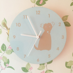 Dog Design Wall Clock - Milo