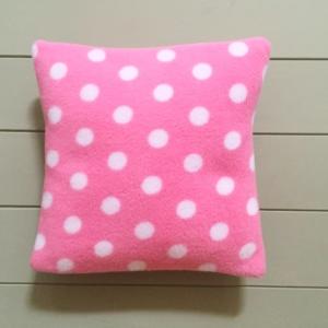 Small Dog Cushion Pinks spot