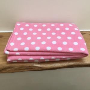 Pet Blanket Pink Dot - Gifts for Dog Lovers