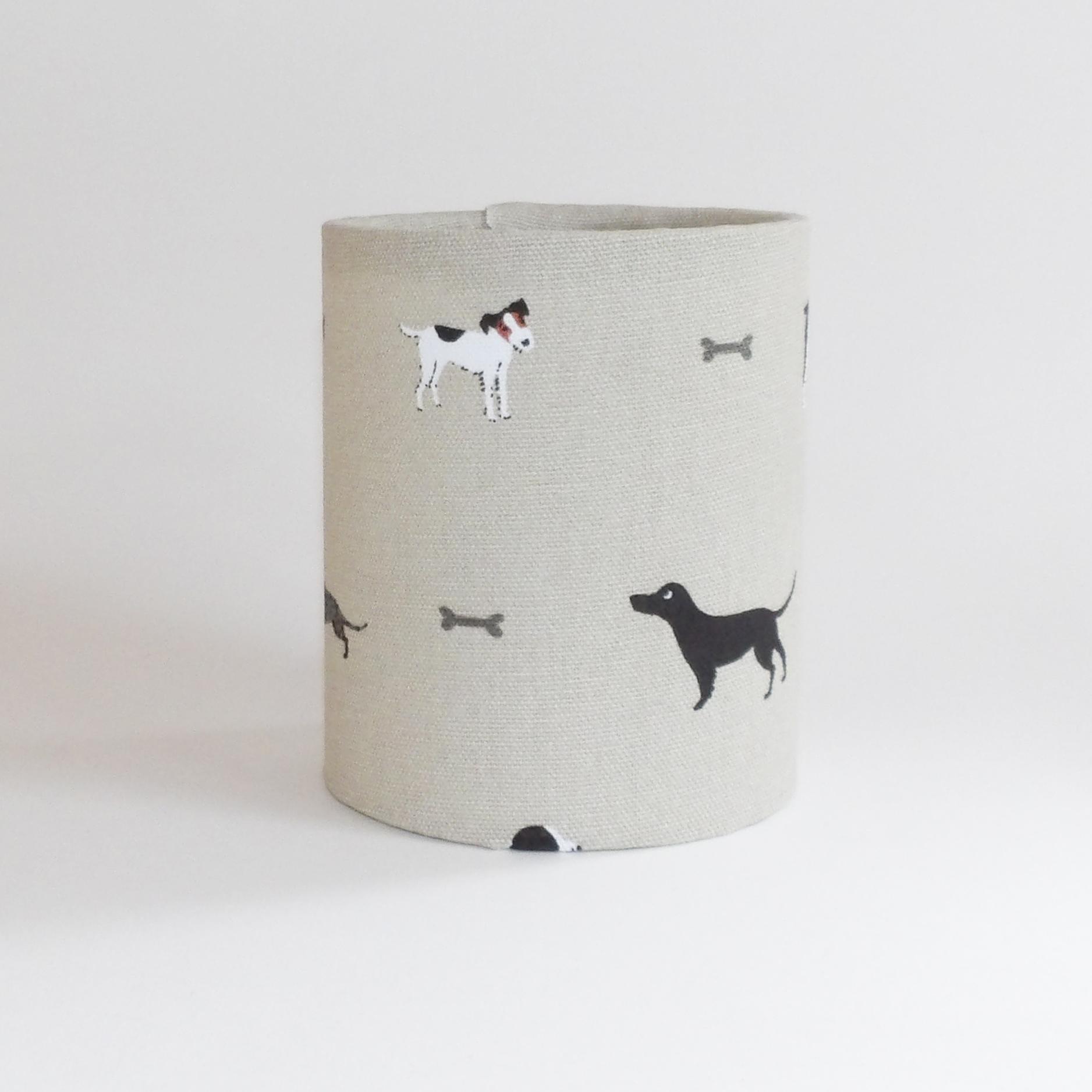 Wood Dog Lantern